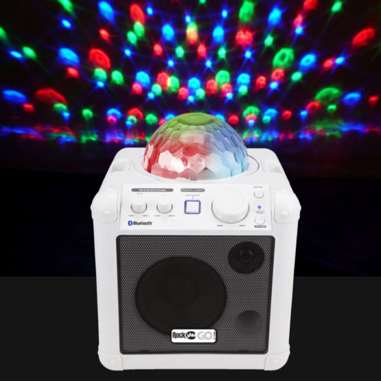 RJGOW2 Bluetooth Karaoke Machine for children
