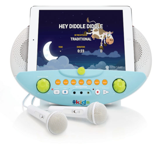 SMK10102 Bluetooth Karaoke Machine For Children