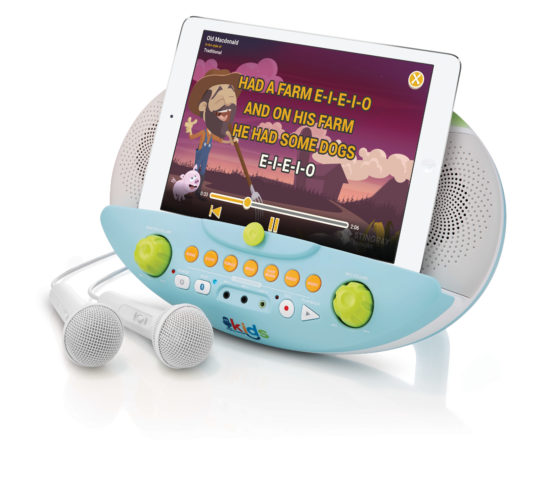 SMK10103 Bluetooth Karaoke Machine For Children