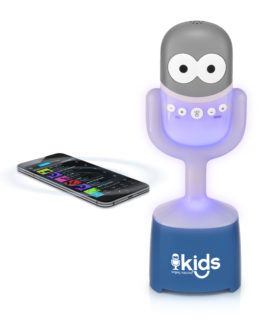 SMK4451 Bluetooth Karaoke Machine For Children