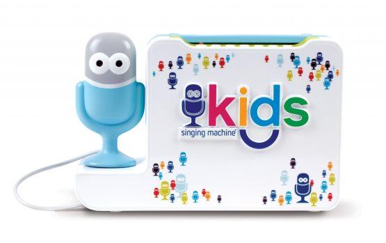 SMK480_01 Bluetooth Karaoke Machine For Kids