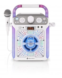 SML682BTW Bluetooth Karaoke Machine
