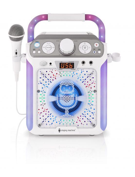 SML682BTW Bluetooth Karaoke Machine